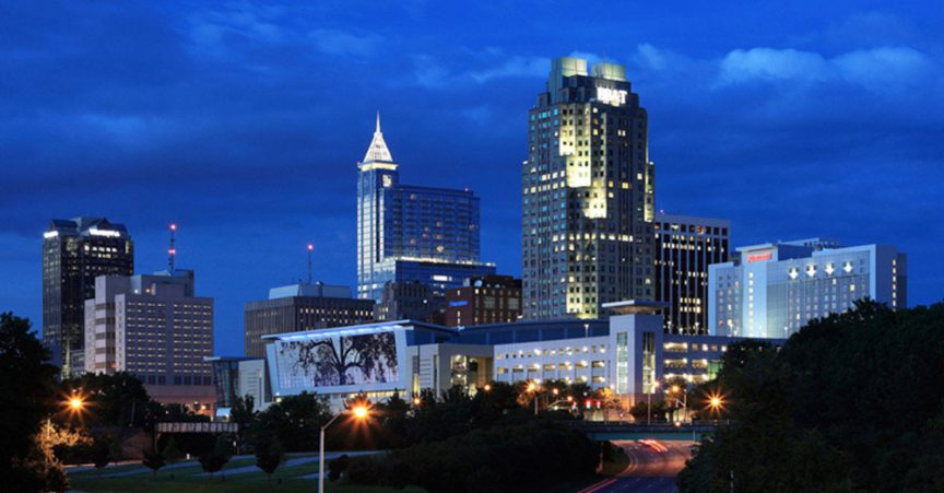 Raleigh at Night
