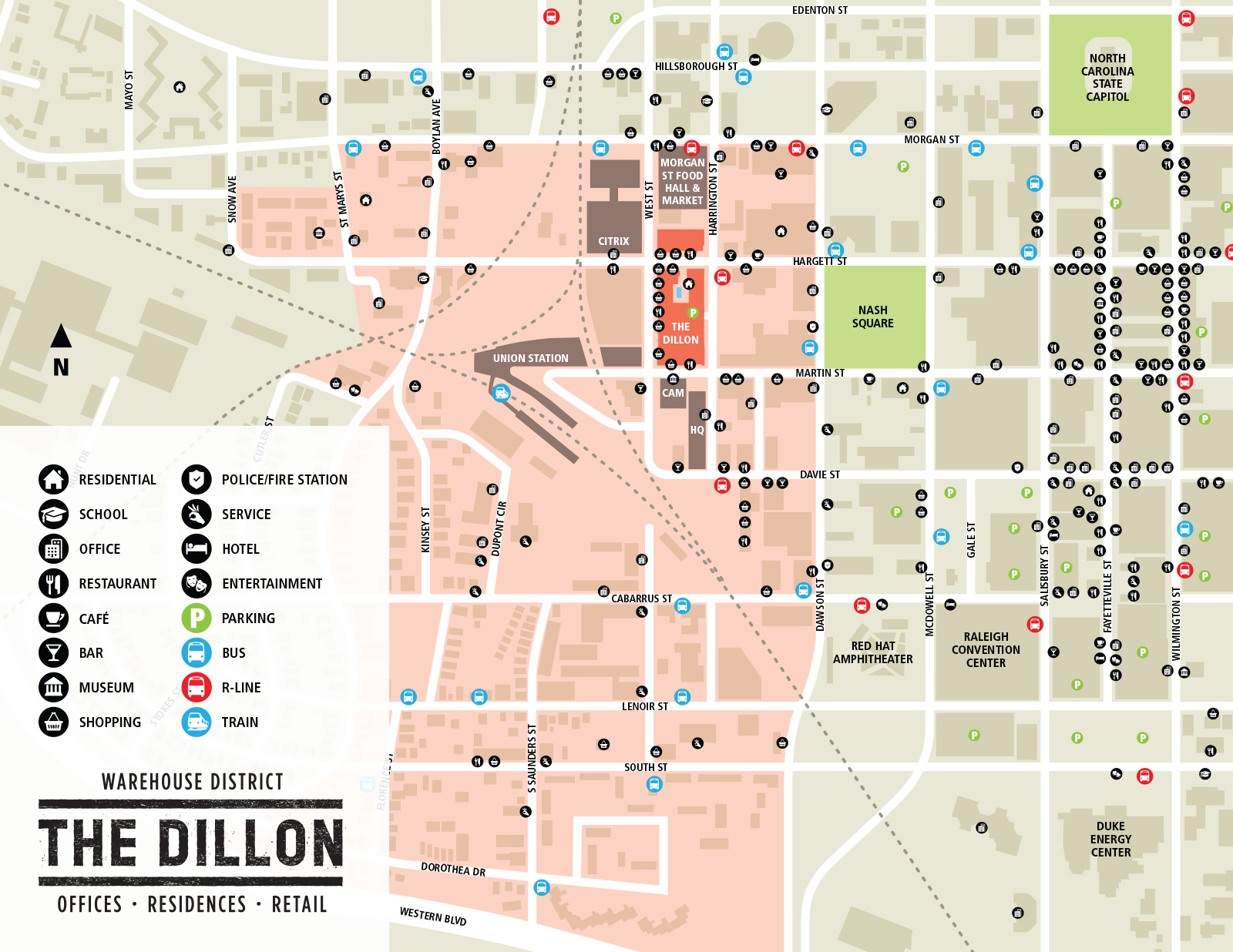 Warehouse District - The Dillon Raleigh